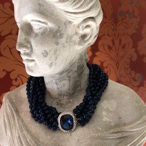 Kenneth J. Lane Multi Strand Choker Necklace